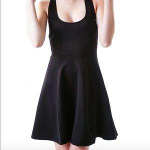Pinkmink sleeveless black dress